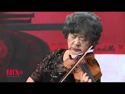 Se despide de los escenarios la violinista japonesa Yuriko Kuronuma