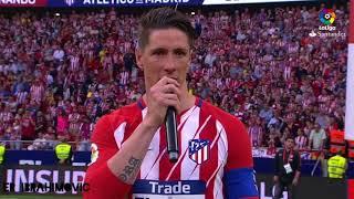 Discurso de despedida de Torres