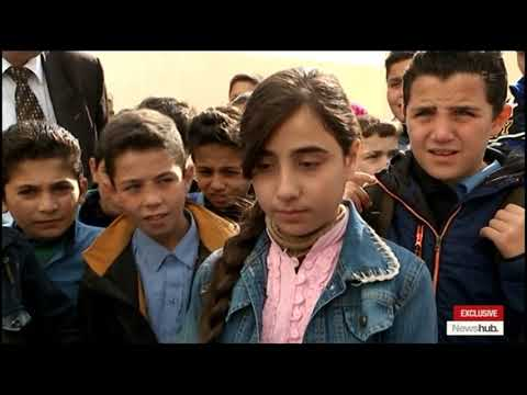Mike McRoberts In Syria: How Children Are Coping After Years Of Brutal Civil War | Newshub