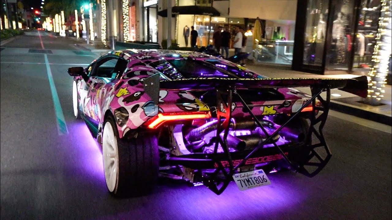 Beverly Hills Police Hate This Lamborghini Alex Chois Huracan Youtube