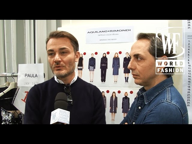Aquilano.Rimondi Fall-Winter 15-16 Milan Fashion Week