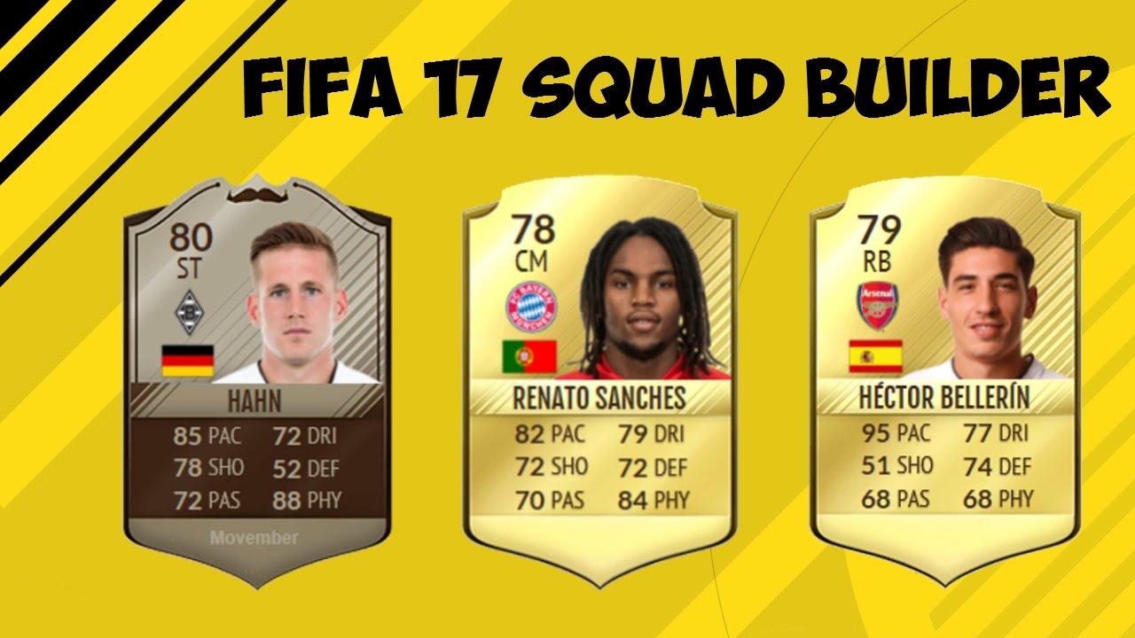 FIFA 17 CHEAP 3 LEAGUE HYBRID 60k SQUAD BUILDER! FT ...