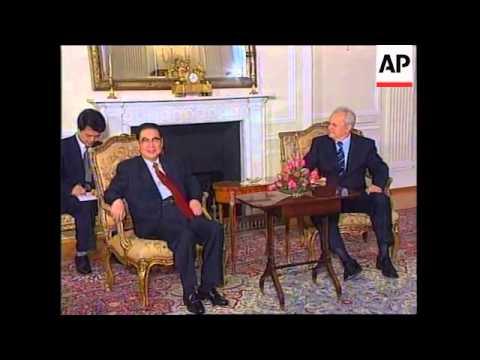 SERBIA: SENIOR CHINESE LEADER LI PENG VISIT