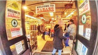 Shopping at Zabar's Deli in NYC