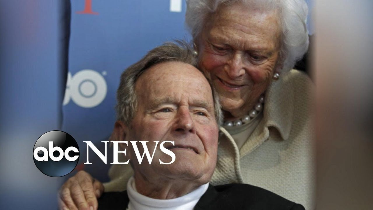President George H.W. Bush hospitalized days after wife's funeral