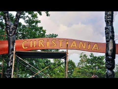 Copenhagen, Denmark: Christiania And Christianshavn