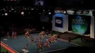 Texas Lonestar Cheer Company Red @ Cheerleading Worlds 2007