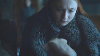 Sansa Stark descubre el Secreto de Arya Stark | Juego de Tronos 7x06 Español HD