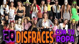 20 DISFRACES FÁCILES CON TU ROPA | Last Minute Halloween Costumes Ideas│Magic Armarium