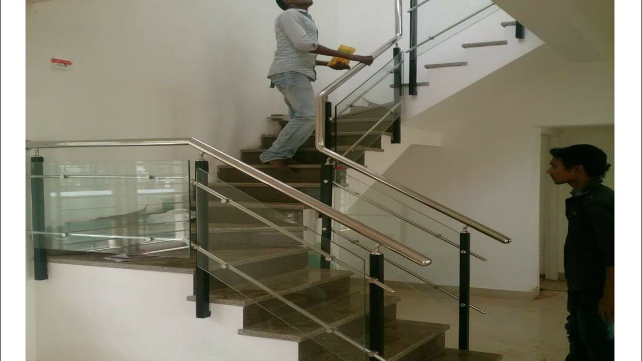 Stainless steel railing wite glass | Top 50 Modern Glass ...
