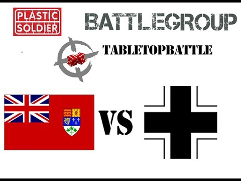 Battlegroup game #1 - 1944: France. 350pts CAN vs GER
