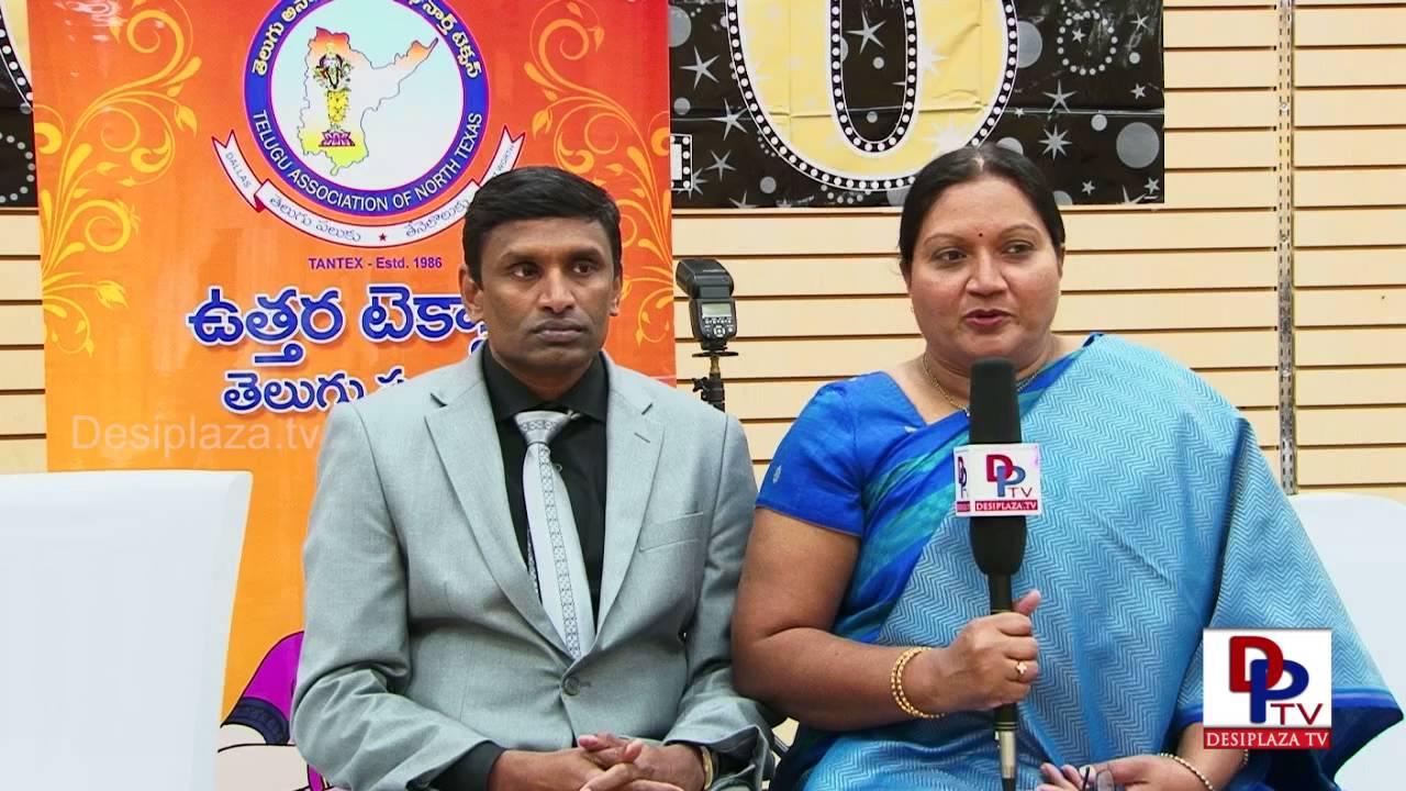 KrishnaVeni Seelam - Vice President Elect - Tantex Speaking to Media