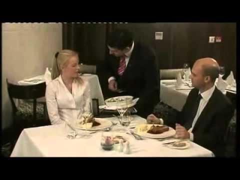 Silver service procedures (waiter)