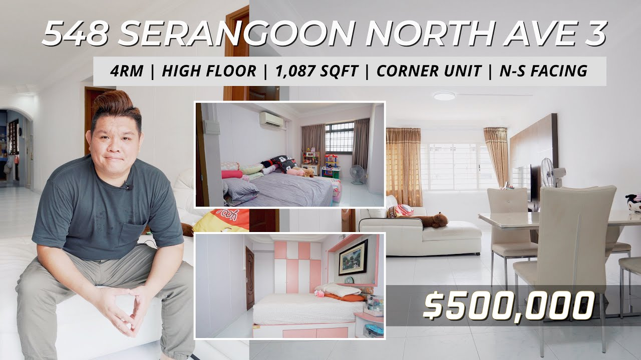 Serangoon North Ave 3 4RM HDB For Sale - Singapore HDB Property Listing | Kelvin Cheong