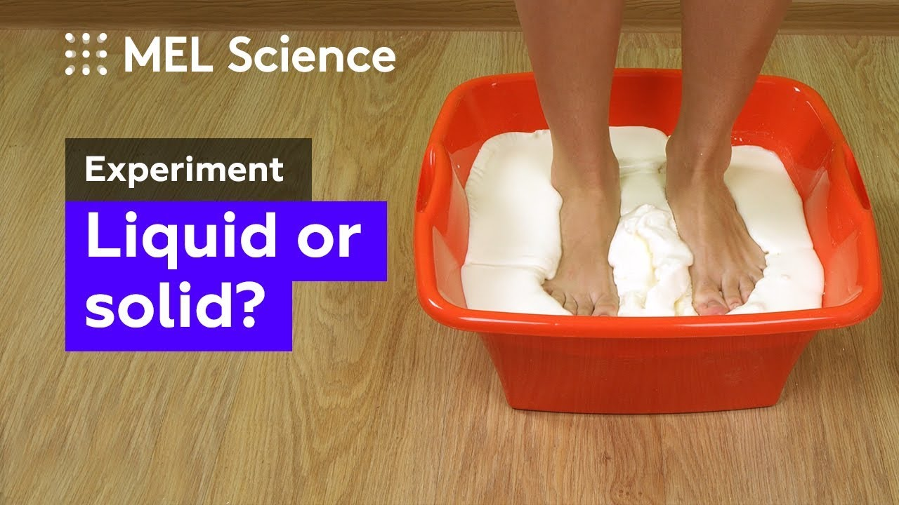 How to make a non-Newtonian fluid at home: a recipe