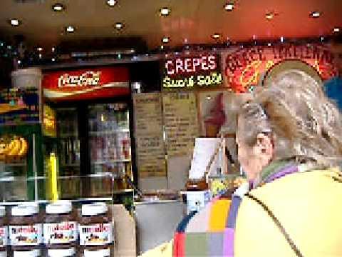 11-Street Crepes at St  Germain des Pres