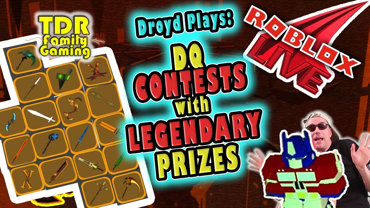 LEGENDARY CONTESTS - DUNGEON QUEST - Droyd Plays - Roblox Stream