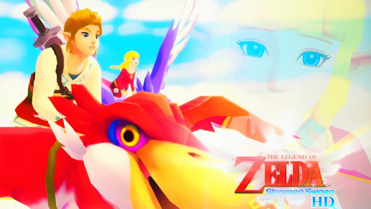 Zagrajmy w The Legend of Zelda: Skyward Sword HD #1 - Początek Przepięknej Podniebnej Przygody!