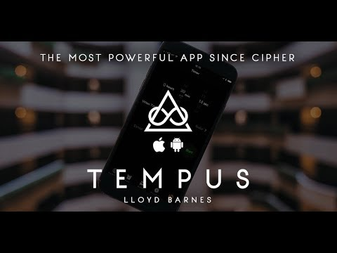 Tempus by Lloyd Barnes - New App Out Now