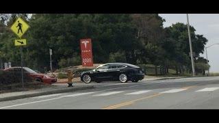 Tesla Model 3 release candidate testing