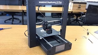 Wanhao Duplicator i3PLUS 3D Printer!! Unboxing & First Impressions
