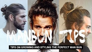 One of STYLEDBYNATE's most viewed videos: GROWING AND STYLING THE PERFECT MAN BUN 2018