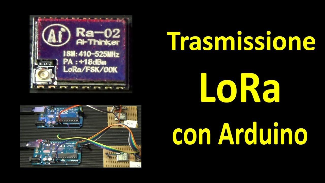 PierAisa #346: Test Moduli LoRa Ra-02 SX1278 con Arduino