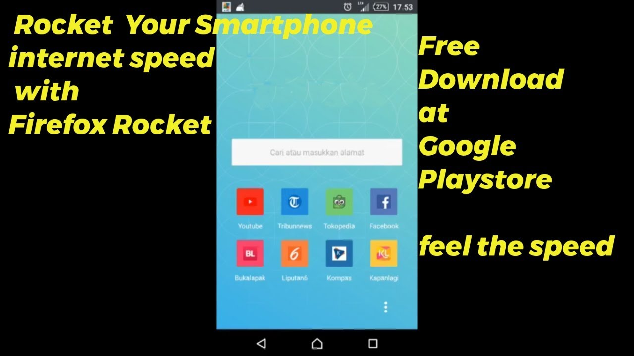 Firefox Rocket   Mobile app browser fast, stable, easy to use
