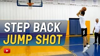 Basketball Skills and Drills for Guards - Step Back Jump Shot - Coach Dave Loos