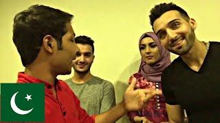 Meeting Sham Idrees and Shahveerjafry