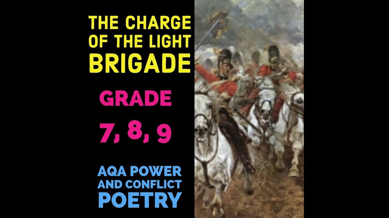how conflict is presented in charge of the light brigade Learning objective• today we are going to analyse and interpret the poem'the charge of the light brigade.