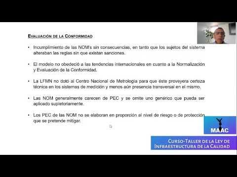 Ley de Infraestructura de la Calidad / MAAC