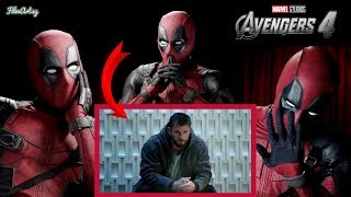 Deadpool Reacts to Avengers 4: End Game Official Trailer | Marvel 2019