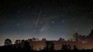 Perseid 2018 meteor shower in HDTV