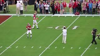 WATCH: Mac Jones, Taulia Tagovailoa Warmup Before Alabama Vs. W. Carolina