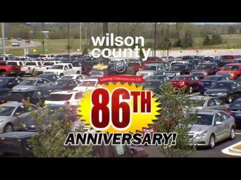 Wilson County Motors Gmc 86 Year Anniversary Sale