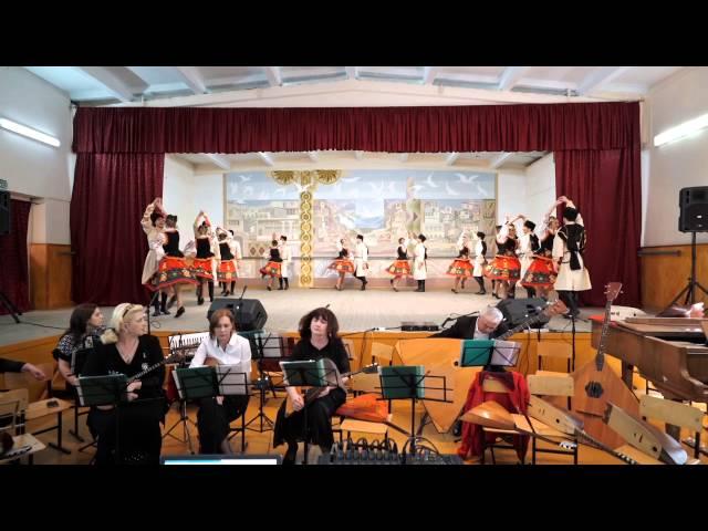 Казачий танец. Дагестанский колледж культуры и искусств
