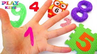 Learn to count and make numbers from 1 to 10 | Counting numbers for kids | Play kids