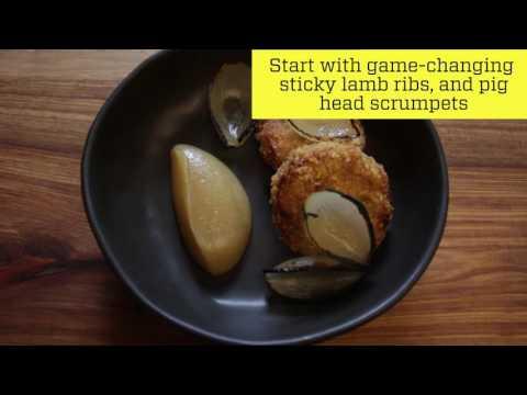 Watch: a first taste of ASH restaurant, Cape Town