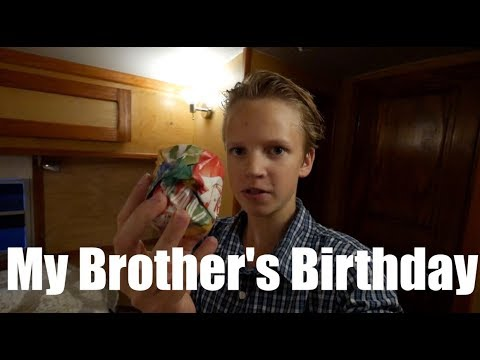 My Brother's Birthday | Vlog #1