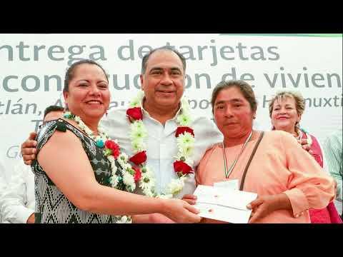 CONTINÚA ENTREGANDO EL GOBERNADOR TARJETAS CON UNA INVERSIÓN DE 45 MDP EN MUNICIPIOS DE LA MONTAÑA