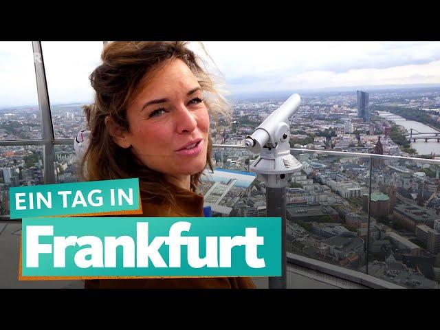 Ein Tag in Frankfurt am Main   WDR Reisen