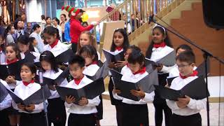 Delia School of Canada Elementary Choir Performanc