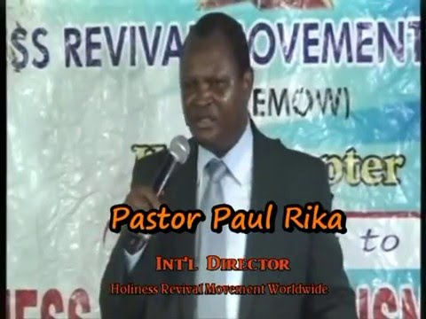 GOODLY COUNSEL FOR YOUR PROSPERITY BY PST PAUL RIKA