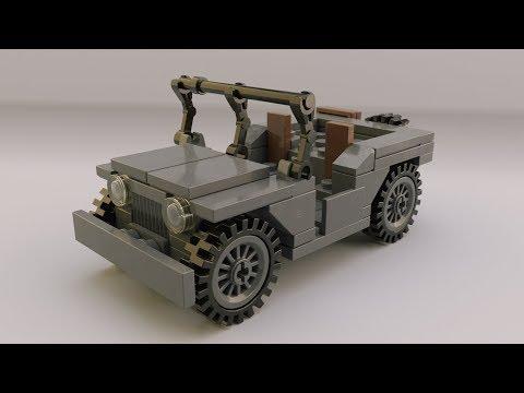 Snooperkings Lego Ww2 Willys Jeep Instructions Lego Wwii Willies