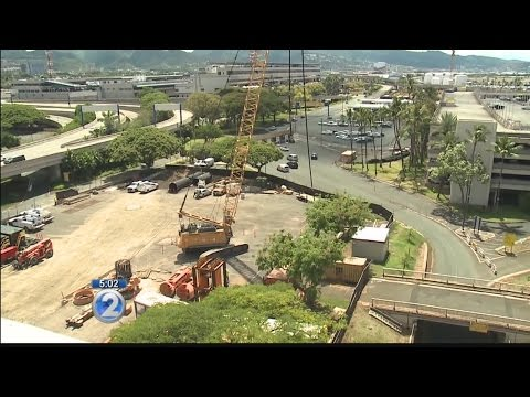 Tests underway before rail construction can begin at Honolulu airport