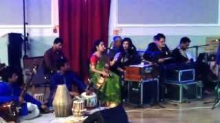 "Singing a Geeta Dutta song for the dance drama "" Khudito Pashan"" at Barnsley Naboborsho 2015"