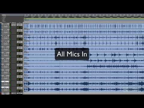 Pro Tools 503: Recording Drums - 3. Close vs. Distant Mics