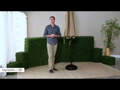 50-lb.-patio-umbrella-base---product-review-video