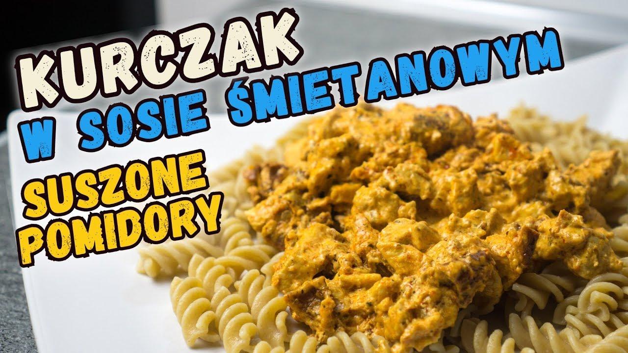 Smakowity Kurczak W Sosie Smietanowym Z Suszonymi Pomidorami Youtube